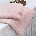 Significantly - faux fur) four kinds of Mont Blanc (Pink) - rugs, recommended for clothing [1106-4]