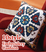 Finished products) embroidered cushion covers -ver.1 (10style)