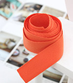 Soft tape Cotton tape 20mm (2Hermp) Orange