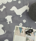 Microfiber carpet) Puppy (2 species)
