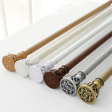Curtain rods) New equipment plug 35mm (6color) Select 1