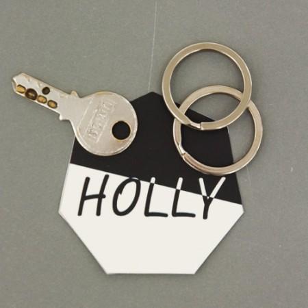 2ea) simple O-ring key 25mm (2 species)