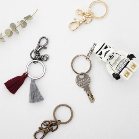 2ea) O-ring key decorative ring (4 types)