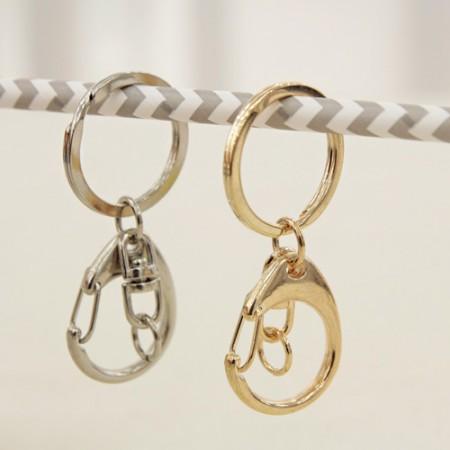 2ea) O-ring key hinged bangle (2 species)