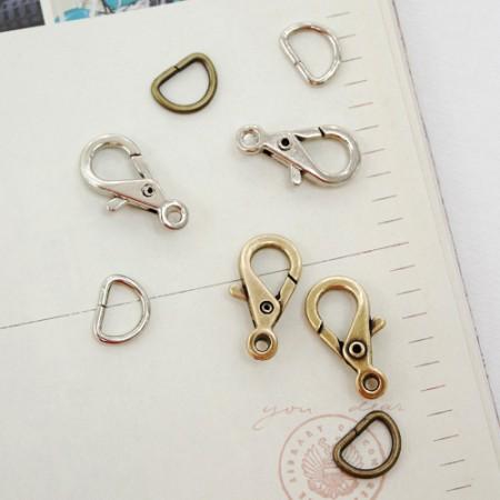 2ea) hook link + Dring (10mm) (2 species)