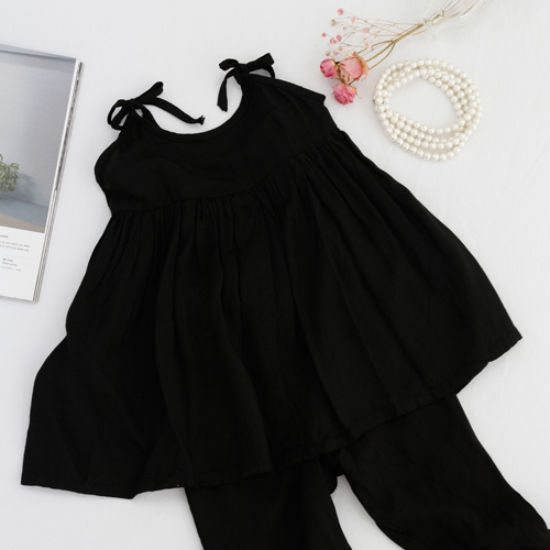 -30 Washing can greatly rayon) black plain