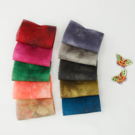 Hanbok Fabric Hanbok Cloth High Quality Water Silk - Mung Bee (10color)