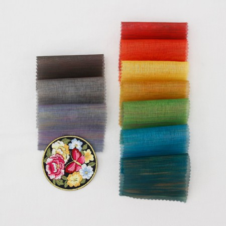 Hanbok fabric Hanbok cloth) Rainbow dog (Red yellow 10color)