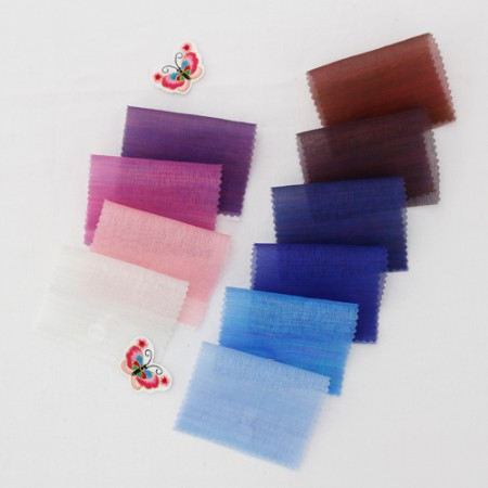 Hanbok fabric Hanbok cloth) Rainbow dog (blue purple 10color)