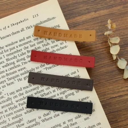 2ea- leather label) -969 gothic handmade (4 species)