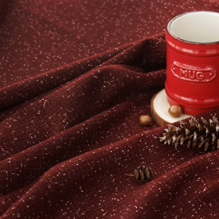 Significantly -Wool) Snow Burgundy