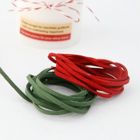 Tax string Chamois strap suede strap 3mm ver.3 (2Hermp / 2 species)