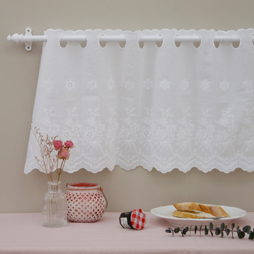 Bong Barans cotton lace R033 Waltz White