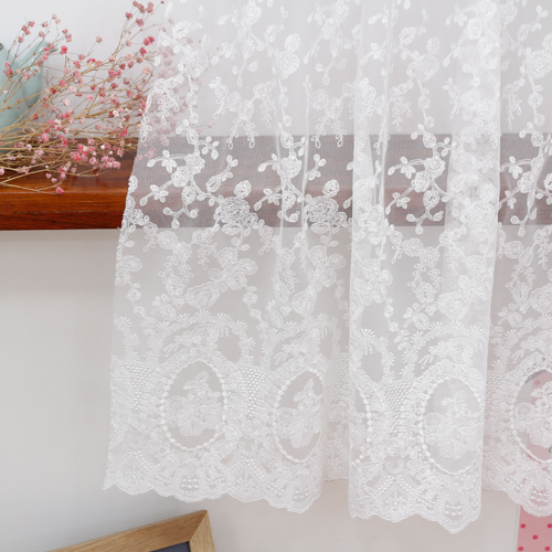 Mesh embroidery sewing balance) Morning Glory mirrors (2 species)