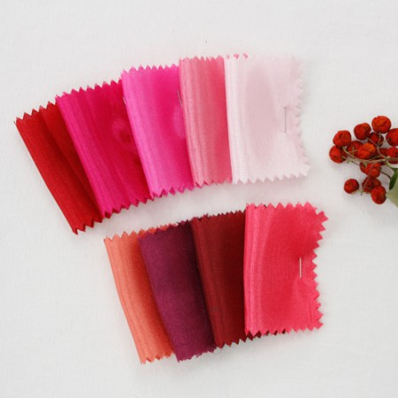 Hanbok Fabric Hanbok cloth) Shantung Plain-Pinkver (9 kinds)
