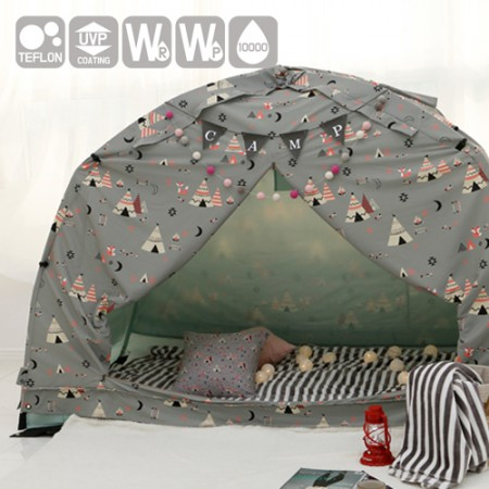 Emotional camping fabric) Indie Camp