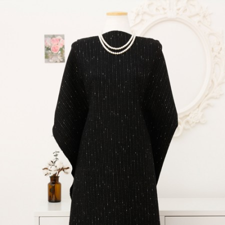 Significantly - wool blend fabric) any winter day (Black)