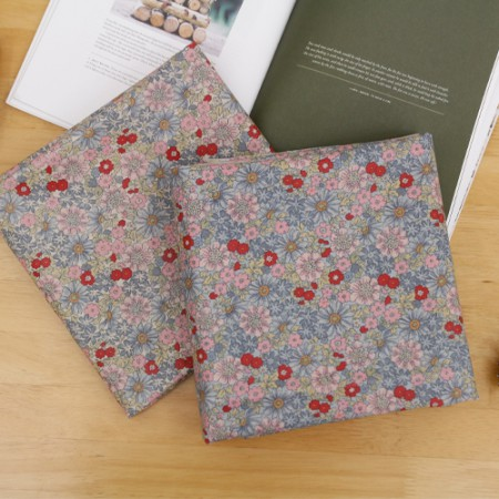 Significantly - linen fabric laminates) Petite Flower (2 species)