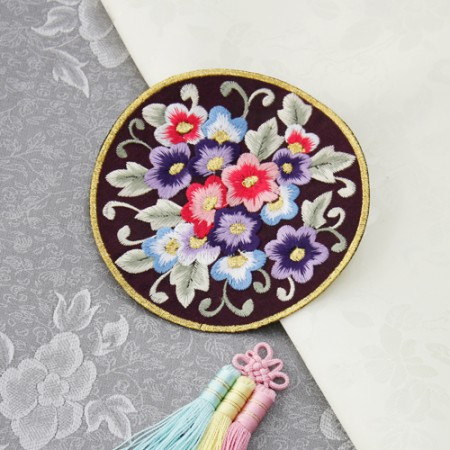 Hanbok for circular embroidery) plant often trace (2 species)