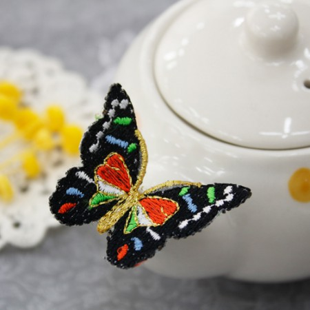 Three-dimensional embroidery hanbok for decoration) swallow butterfly