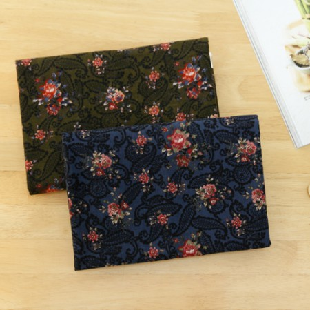 Significantly - brushed cotton fabrics) Paisley (2 species)
