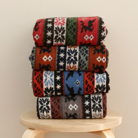 Significantly - brushed knit fabric) Rudolph (4 species)