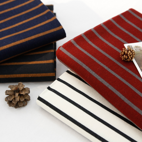 Significantly raising the fabric surface -20) Modern Stripe (4 species)