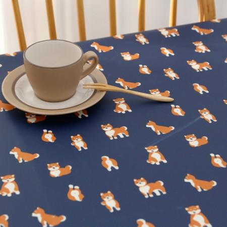 Advanced matte laminate fabric) Friendly Dog