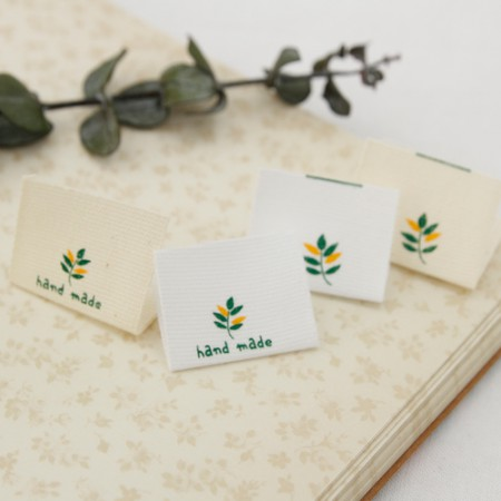 [5Piece] insert label) Palm leaf (two kinds)