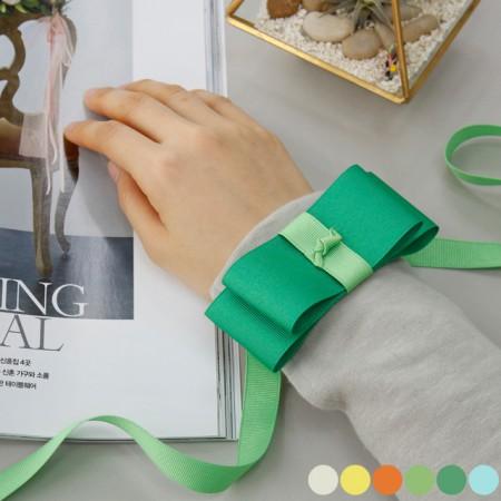 [5Hermp] ★ Cutting tape) 40mmYellow greenver (6 species)