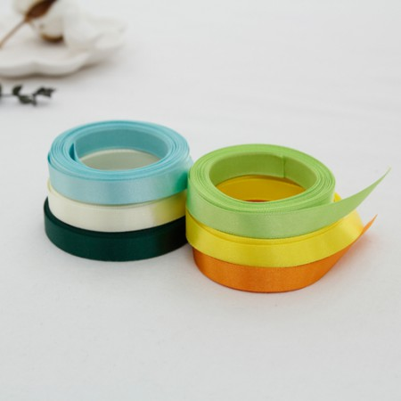 [5Hermp] Satin tape) Making 10mm Yellow greenver Mask Strap (6 types)