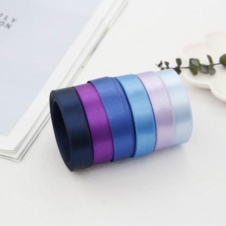 5Hermp) 15mm satin tape _Bluever (6 species)
