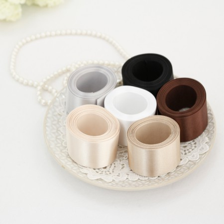 [5Hermp] satin tape) 40mm white brown ver (6 species)