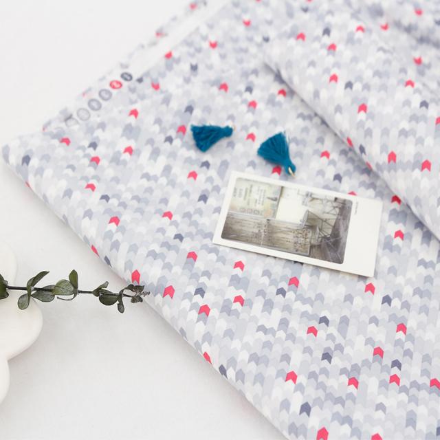 Cotton spandex fabric) Gray Chic