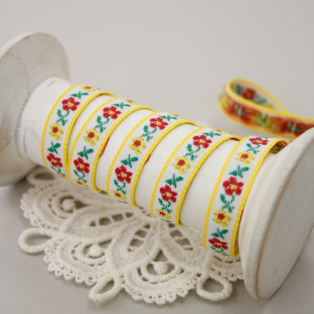 Decorative tape) kkotdanjang (Yellow)