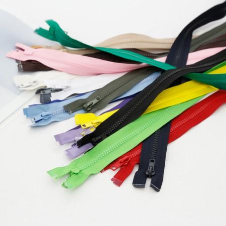 60cm) plastic zipper (17 species)