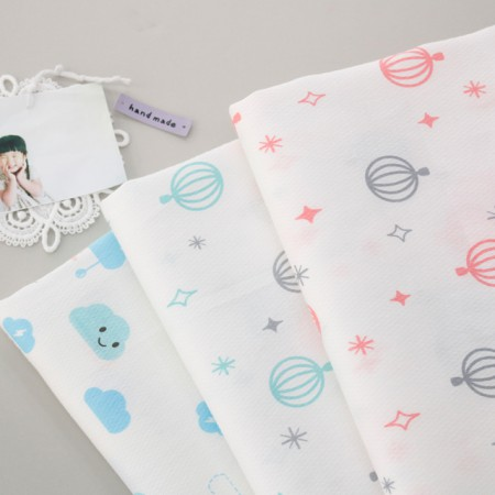 Diaper cloth) diapers embossed printing (3 types)