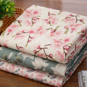 Significantly - linen fabric) plays Spring Flower (3 types)