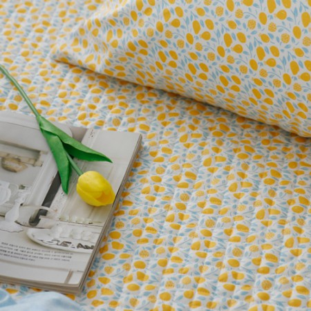 20 can be quilted woven fabric) Honey Lemon