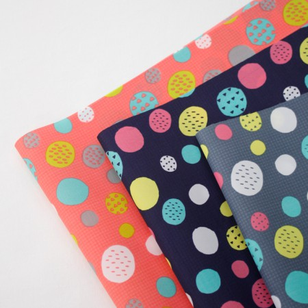 Significantly -PU polyurethane waterproof double-sided single one thousand won) Ugly dots (three)