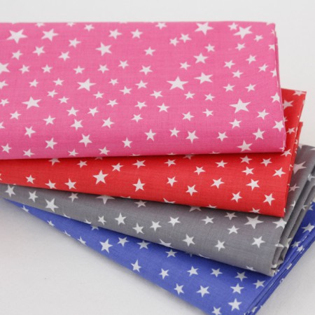 Cotton blend fabric) Cute Star (4 species)