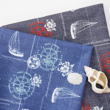 Significantly - only water one thousand won) Marine denim (two kinds)