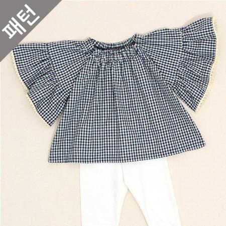 Patterns-Children) Children blouse [P616]