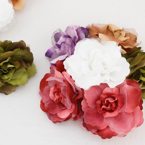 2ea- curtain decoration) Big Flower (5 species)