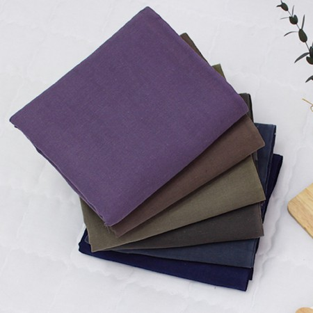 Double gauze fabric) Cotton natural (6 kinds)