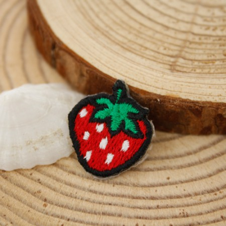 Sticking fan) Mini strawberry