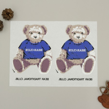 Paper transfer paper) Big Bear