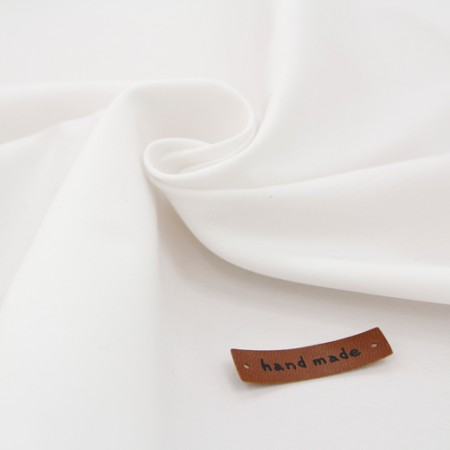 Polish fabric) White cream