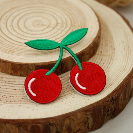 Adhesive type fan) Cherry large [40]