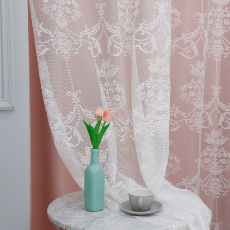 [Limited Specials] Wide-russell lace mesh fabric) Adela